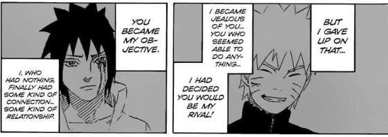 Sasuke's feeling 1